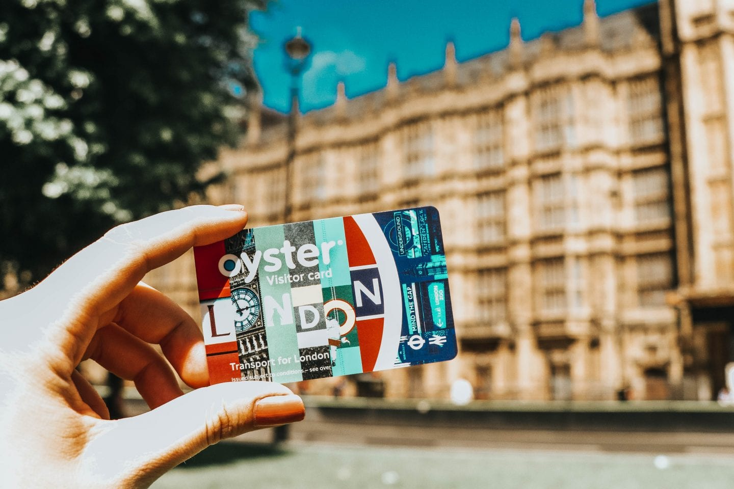 Budget London Trip as a Solo Traveler: Use an Oyster Card for transportation!